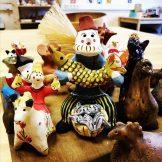 Русская традиционная глиняная игрушка