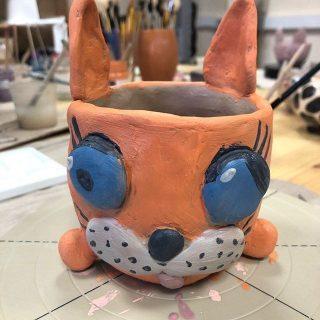 Оранжевый зайка